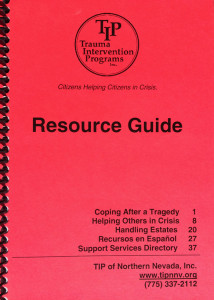 Click here to download a PDF version of TIP's Resource Guide which provides helpful local resources and information during times of tragedy.